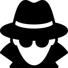 Secret agent for the. Spy clipart clip library stock