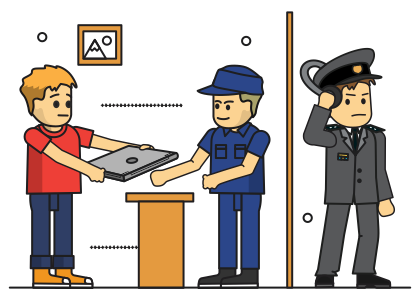 Spy clipart computer security. Cyber spying through repair