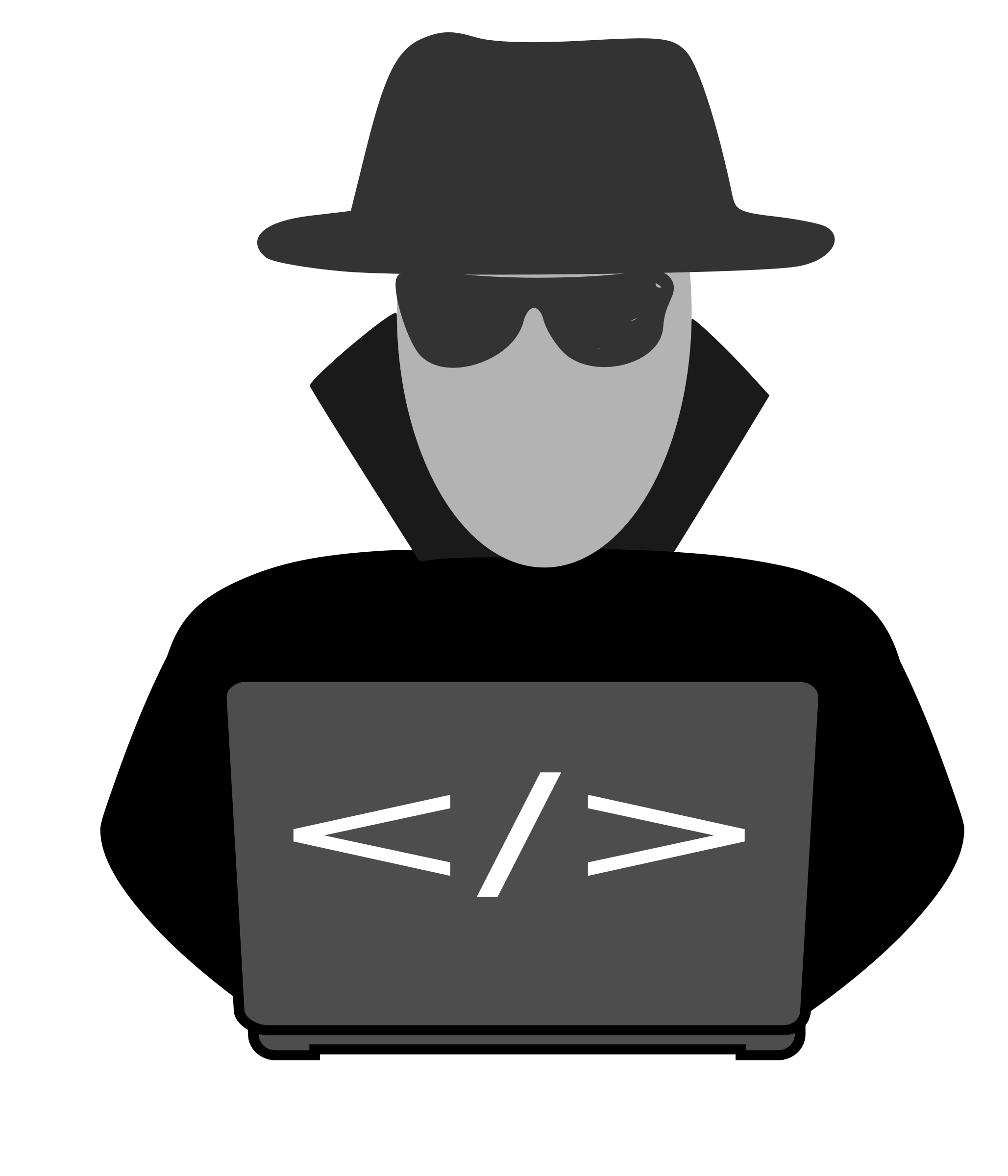 Spy clipart computer security. Behind big image png