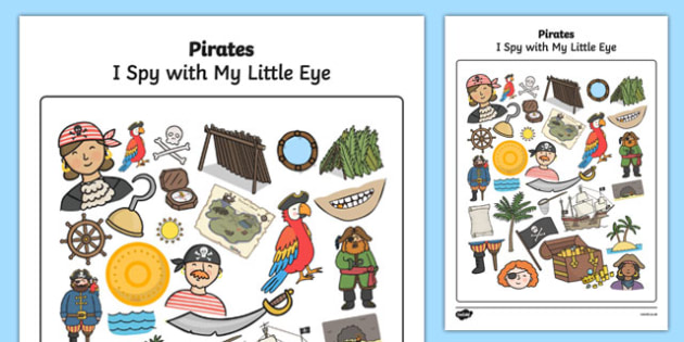 Spy clipart eye spy. Pirate themed i with