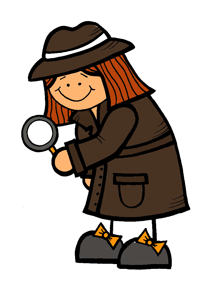 Mystery reader free collection. Spy clipart clip black and white
