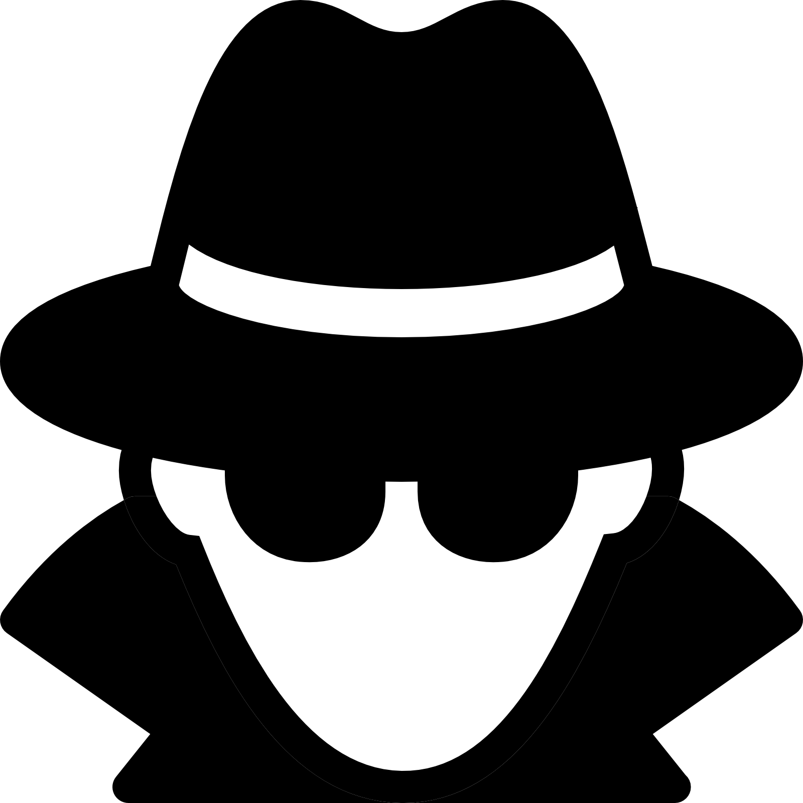 spy clipart two