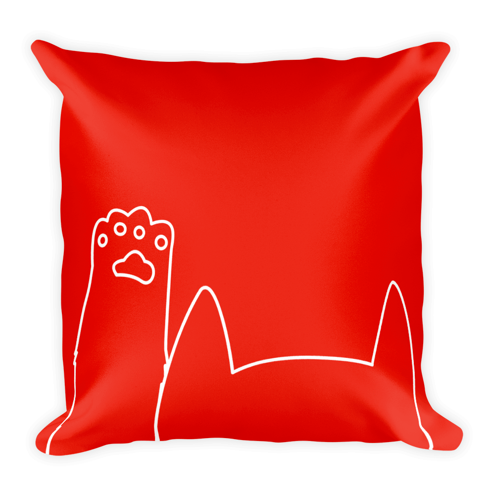 Square clipart cushion. Brilliant gifts for cat