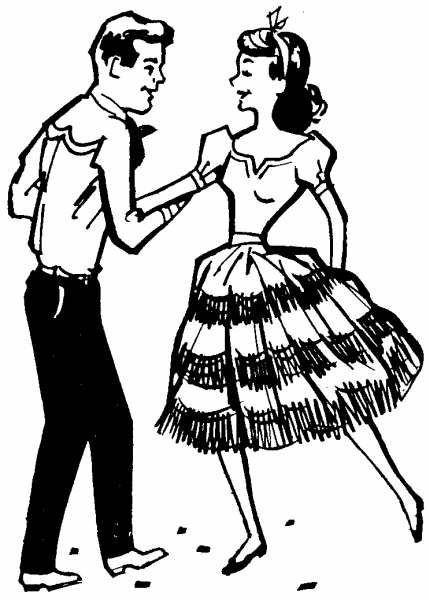 square clipart square dancing