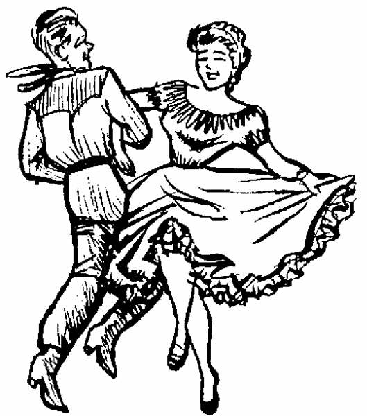 Square clipart square dancing. Dance clip art pg