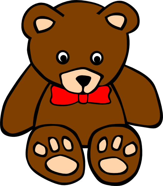 Square clipart teddy bear. Three bears at getdrawings
