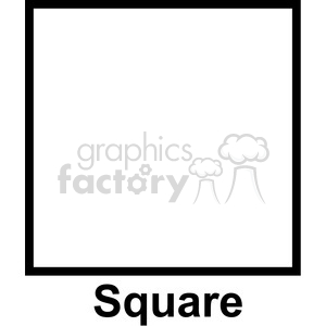 Square clipart. Royalty free geometry clip