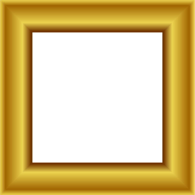 Square gold frame png. Transparent pictures free icons