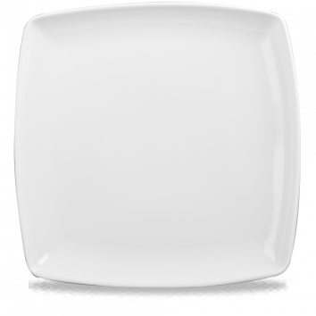 Square plate png. Deep churchill china