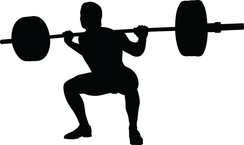 Squat vector power lifter. Powerlifting png images free