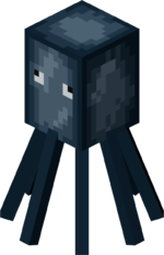 Squid clipart swimming. Official minecraft wiki