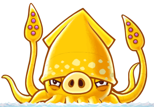 Squid monster png. Image squidpig angry birds