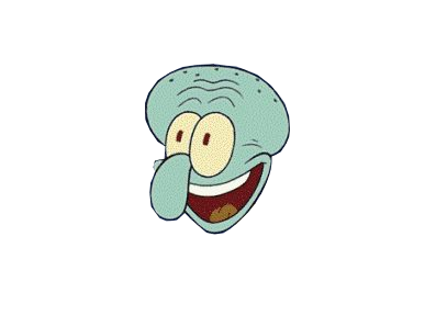 Squidward png. Image the gaming family