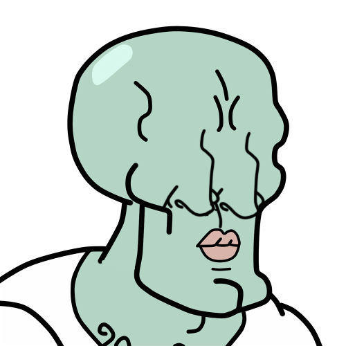 Squidward nose png. Patteh s modererated creativity