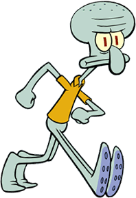 Squidward png. Image fictional characters wiki