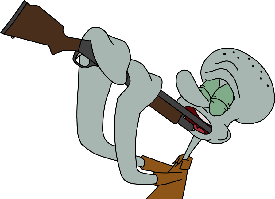 Squidward suicide png. S unfortunate accident by