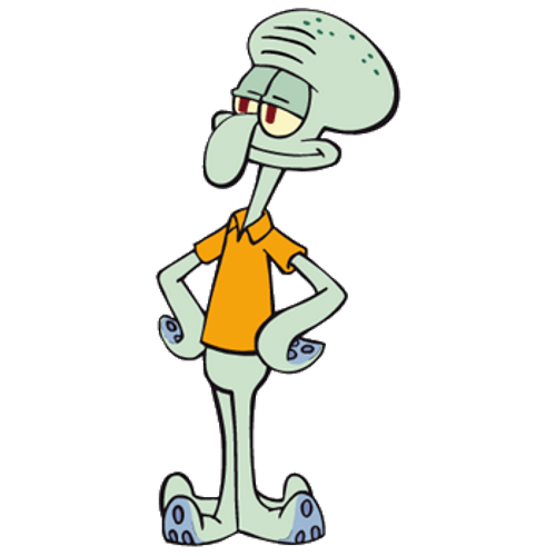 Squidward's nose png. Squidward tentacles heroes wiki