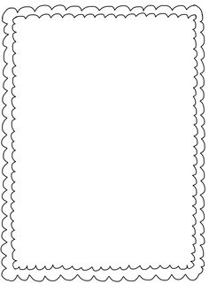 Squiggly clipart boarder. Photos squiggle page border
