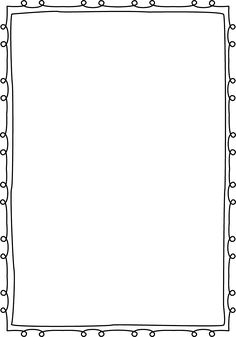 Squiggly clipart boarder. Squiggle page border free