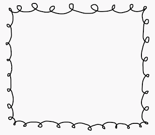 Squiggly clipart fun border. Group page borders free
