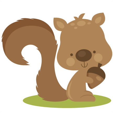 Squirrel clipart kawaii. Free animal icon over