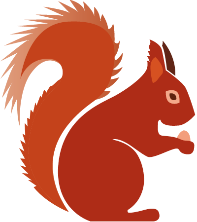 Squirrel with arms out png. Clipart september free on