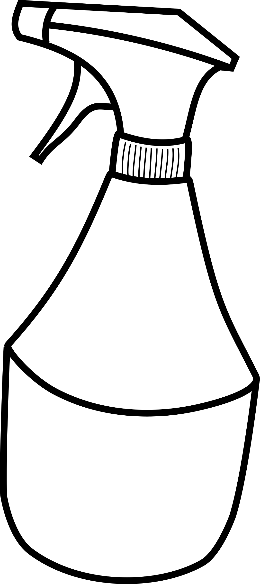 Squirt drawing. Clipart bottle big image