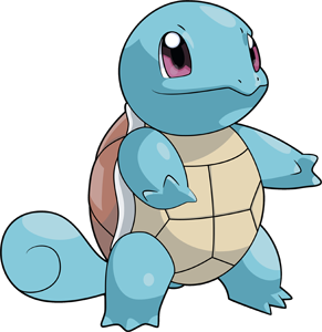 Squirtle png. Pokemon pokedex evolution moves