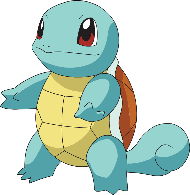 Squirtle png. Pokemon transparent stickpng