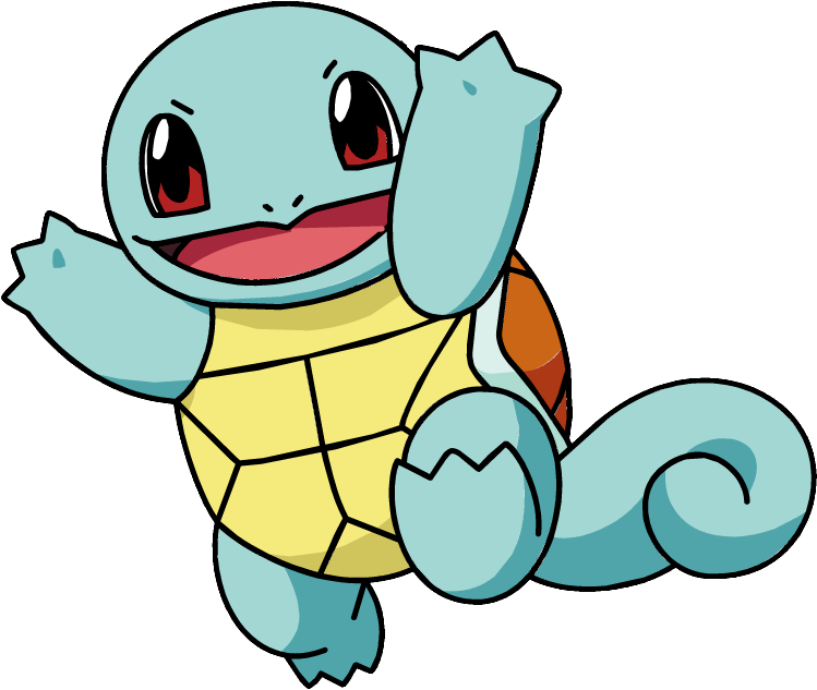 Image ag anime pok. Squirtle png banner stock