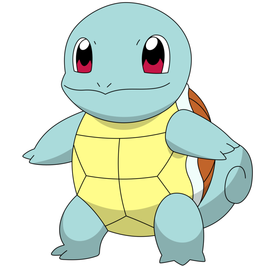 Squirtle png. With a default happy