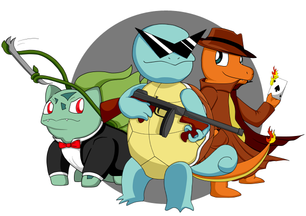 Tipify . Squirtle squad png vector royalty free