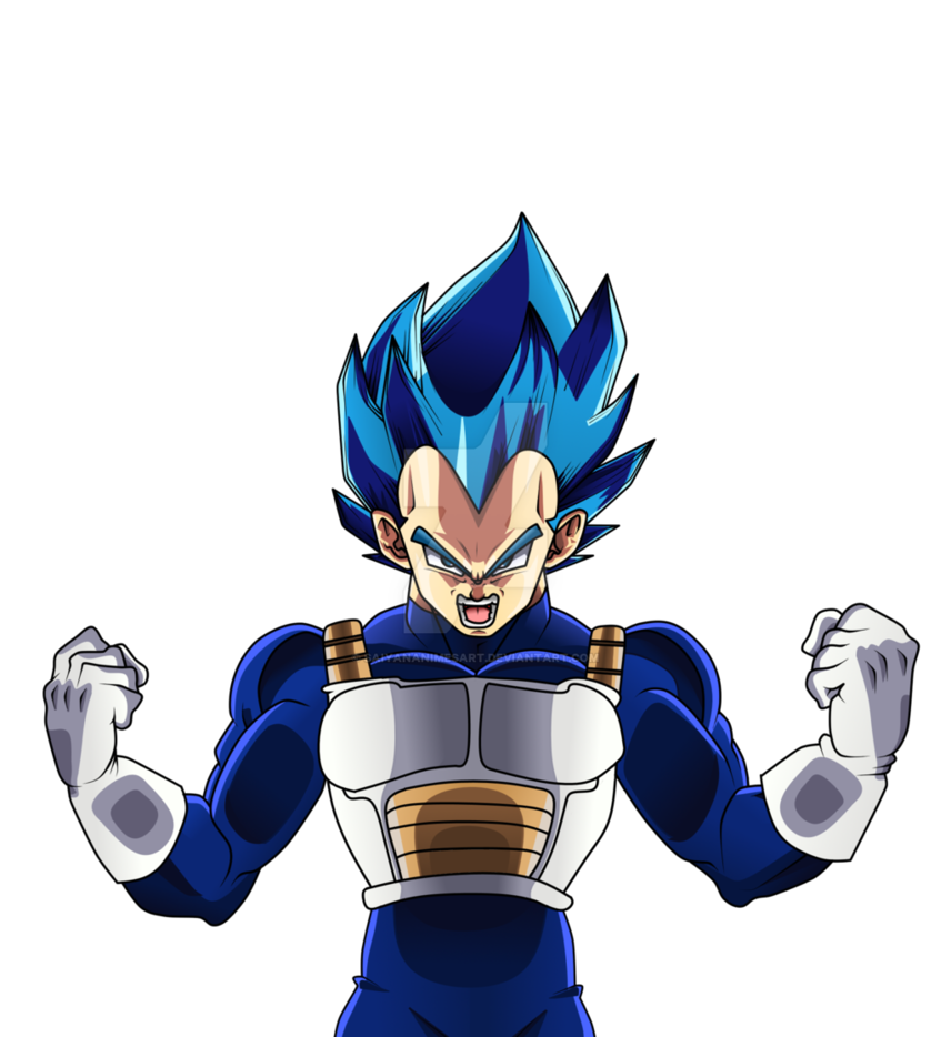 Ssb vegeta png. Perfected full drawing by