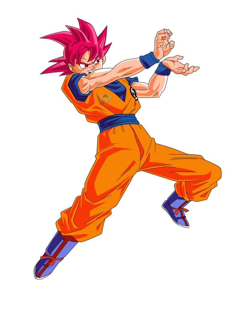 Ssj god goku png. Kamhameha facudibuja by on