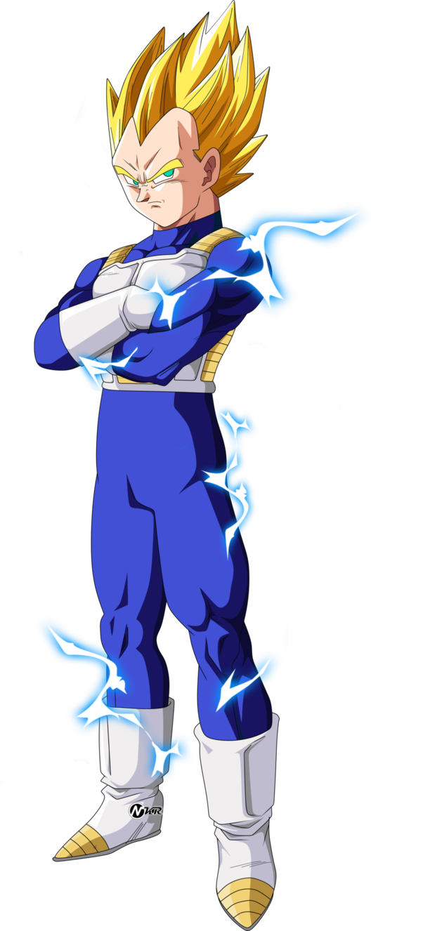 Ssj vegeta png. By naironkr on deviantart