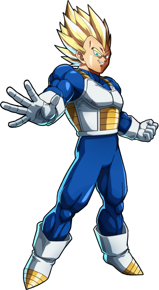 Ssj vegeta png. Render dbfighterz by purplehato