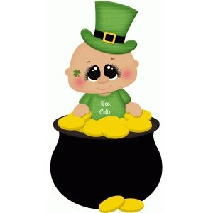 St patricks clipart baby. Best day clip