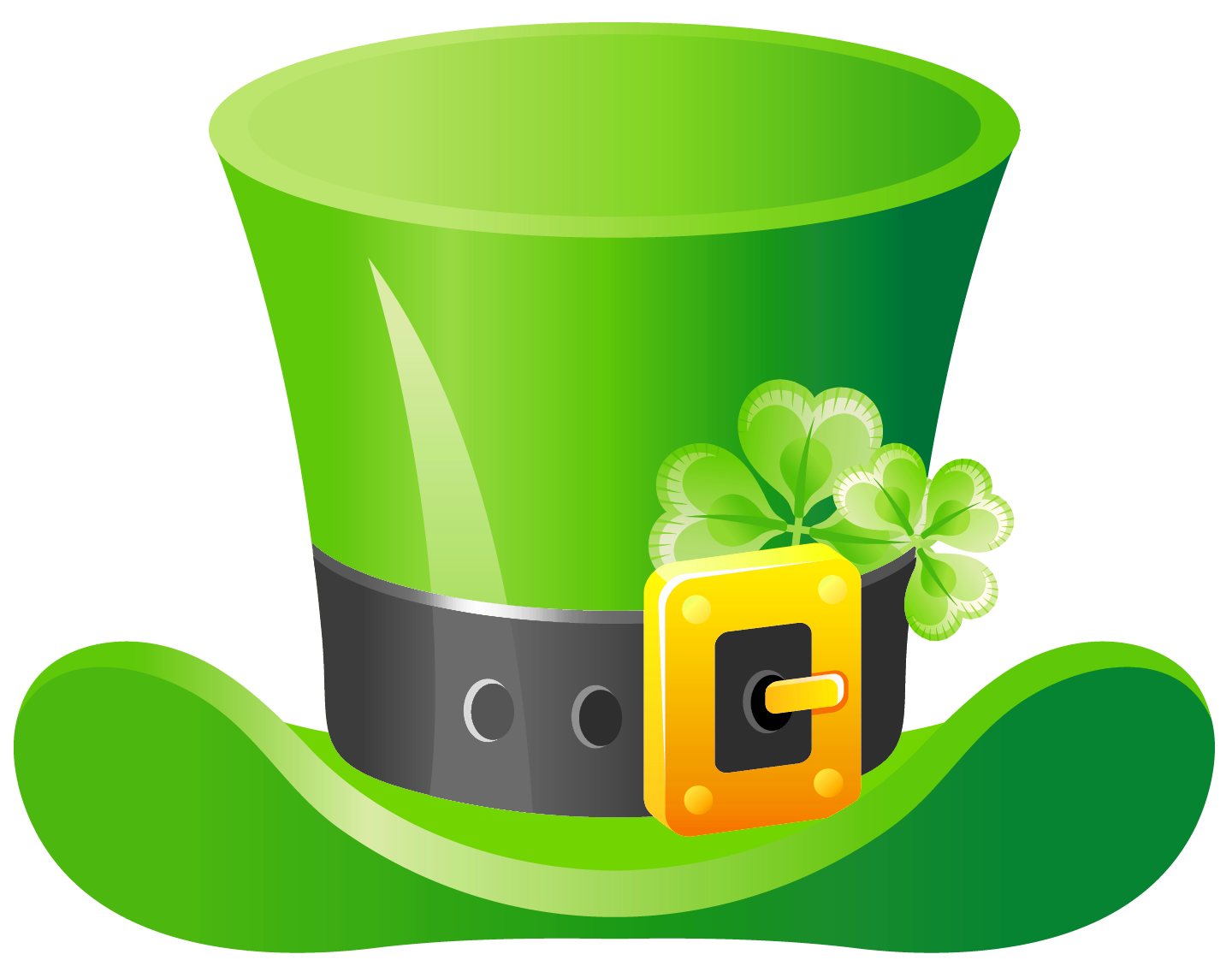 St patricks clipart hat. Love free day patrick