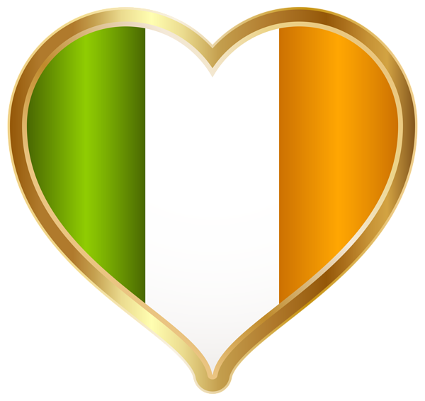 St patricks clipart heart. Day irish png clip