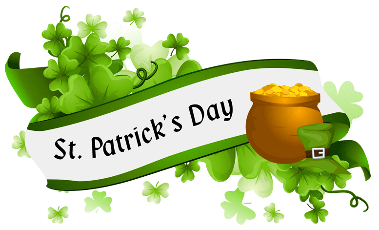 St patricks day banner png. Patrick s transparent stickpng