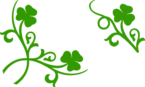 St patricks day border png. Images by heather m