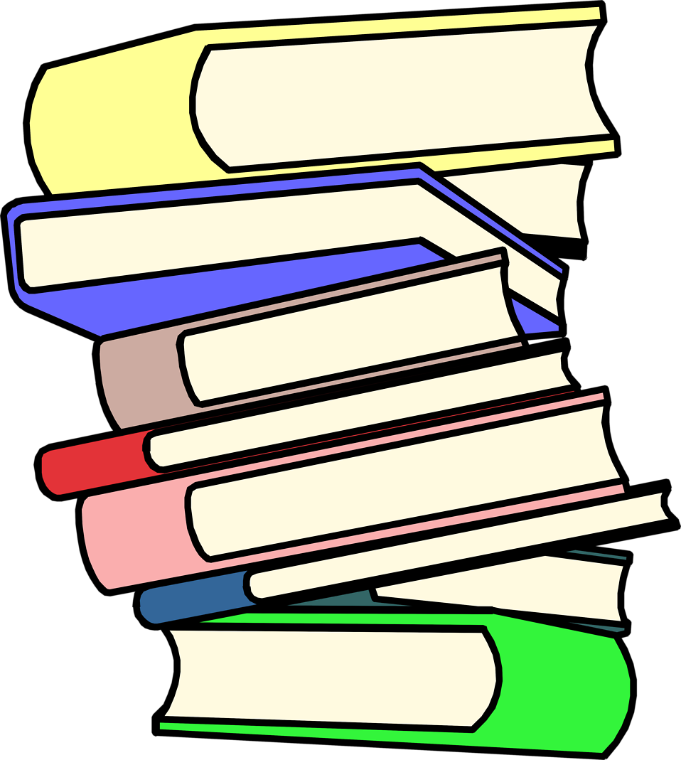 Stack clipart. Of books clip art