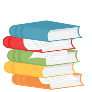 Stack of books clipart png. Stacked school svg scrapbook