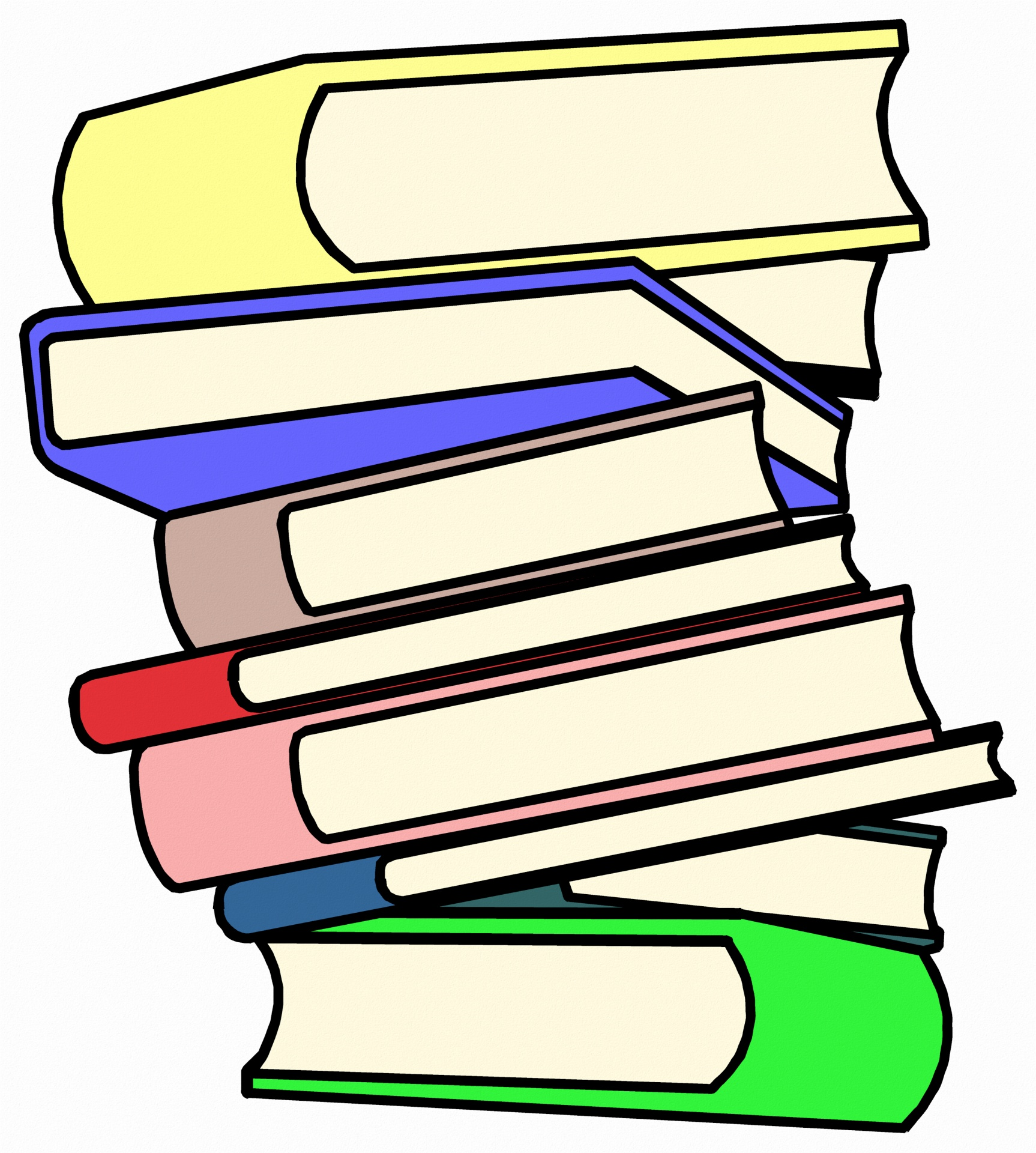 Stack clipart book gif. Pile of books free