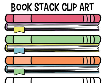 Stack clipart border. Download etsy of books