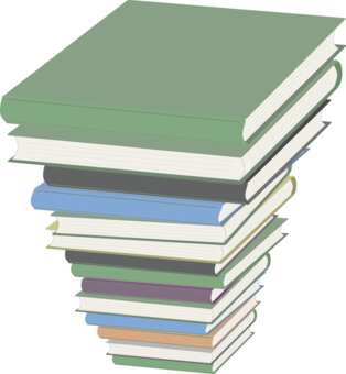 Stack clipart hardcover book. Computer icons line art