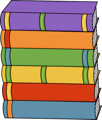 Stack clipart hardcover book. Books clip art tall