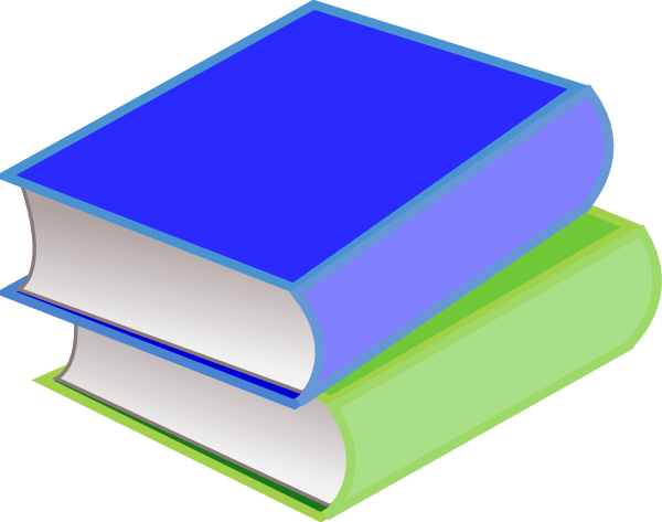 stack of books clipart png