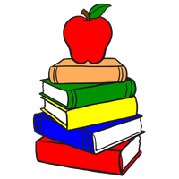Stack clipart school project. Download of books category