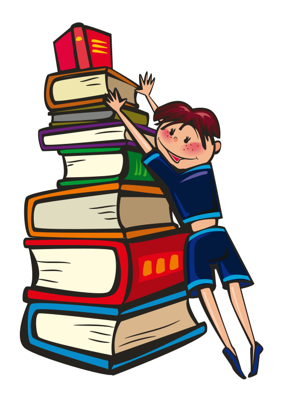Stack clipart. Free of books download